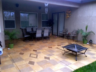Charming Stain Concrete Patio Yourself Customer Testimonials And Reviews .