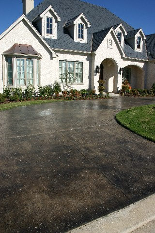 Exterior Concrete Stain Pictures