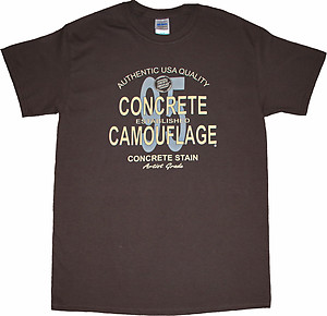 Concrete Camouflage T-Shirts