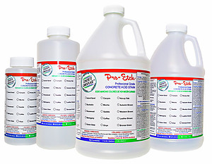 Pro-Etch Concrete Acid Stain - $12.95 to $51.95