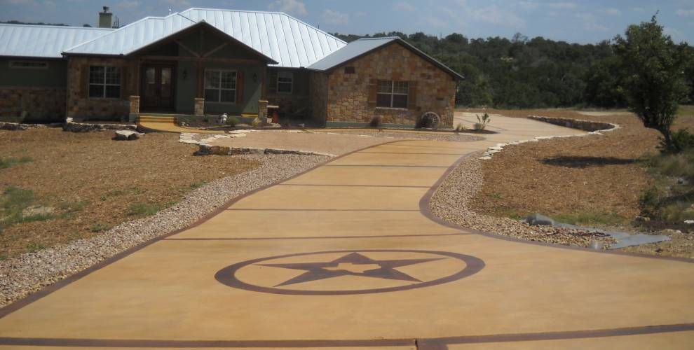 How To Stain Concrete The Complete Guide