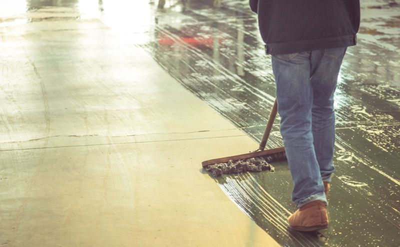 Steps To Cleaning Stained Concrete Maintenance Amp Protection