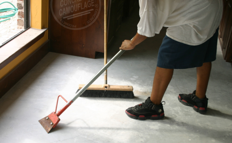 How To Remove Carpet Glue From Concrete Floor Step By