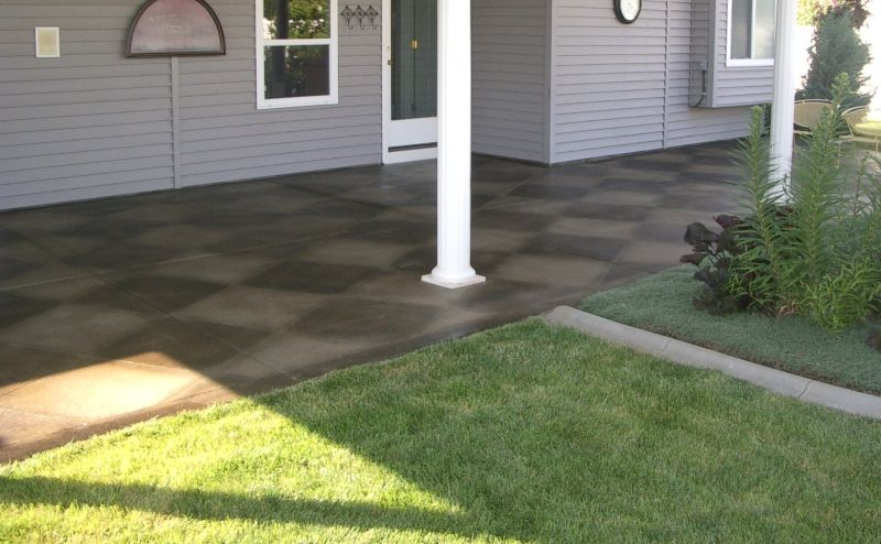 best outdoor concrete stain used on porch