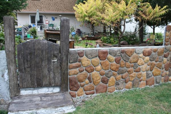 Don Perry Concrete Stain Gate