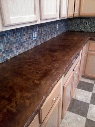 Pictures of Stained Concrete Floors and Countertops