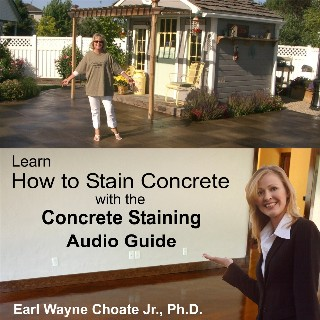 The Concrete Staining Audio Book - $19.95