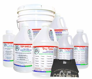 Pro-Etch Interior Concrete Acid Stain Kit
