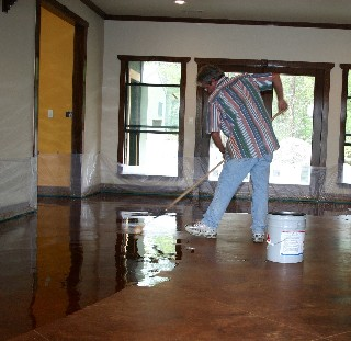 Sealing with Water Base Sealer