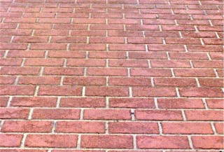 Brick Running Bond Stencil