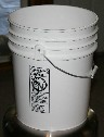 5 Gallon Bucket with Lid - $8.95